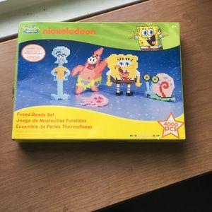 Spongebob fused beads set